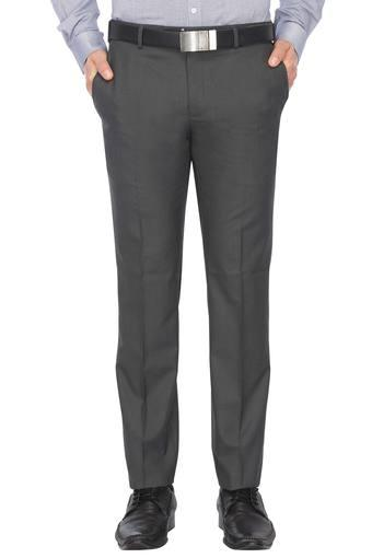 RAYMOND -  Dark Grey Cargos & Trousers - Main