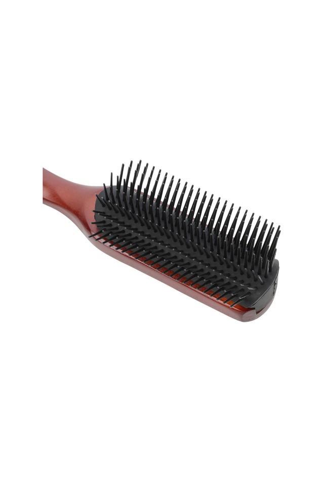 Mens Wooden Hair Brush with Plastic Bristles