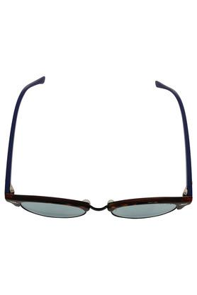 Unisex Half Rim UV protected Lens Club Master Sunglasses -1490-C02