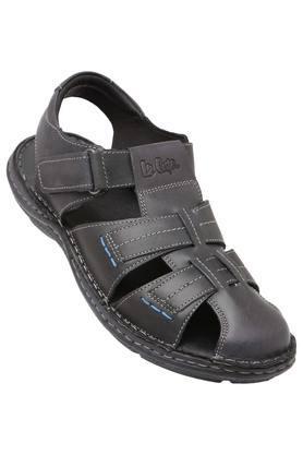 LEE COOPERMens Leather Velcro Closure Sandals - 203912136_9204