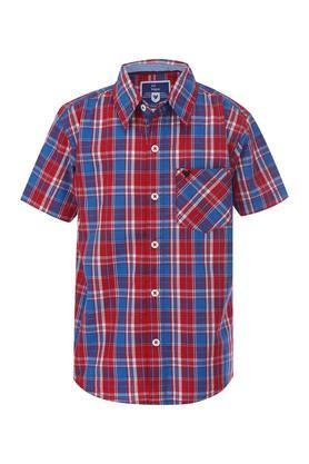 Boys Checked Casual Shirt
