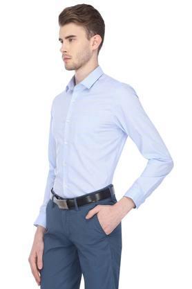 Mens Extra Slim Fit Solid Formal Shirt