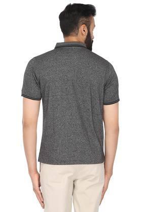 Mens Slub Polo T-Shirt