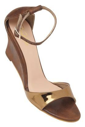 RAW HIDE Womens Casual Wear Buckle Closure Wedges - 204514956_9126