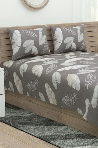 Four Reasons Printed Double Bedsheet with 2 Pillow Covers