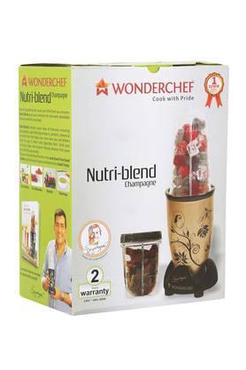 WONDERCHEFBlender With 2 Interchangeable Jar