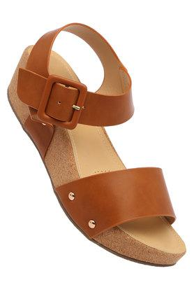 VAN HEUSEN Womens Casual Wear Buckle Closure Wedges - 203718786_9124