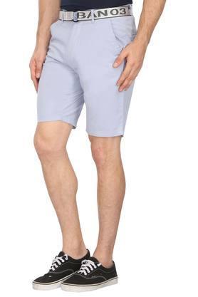 Mens 4 Pocket Solid Shorts