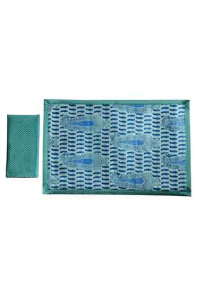 Printed Place Mat and Napkin Set of 8