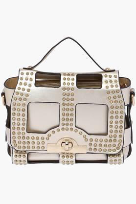 WILDCHILD Womens Metallic Lock Closure Slingbag - 201923472