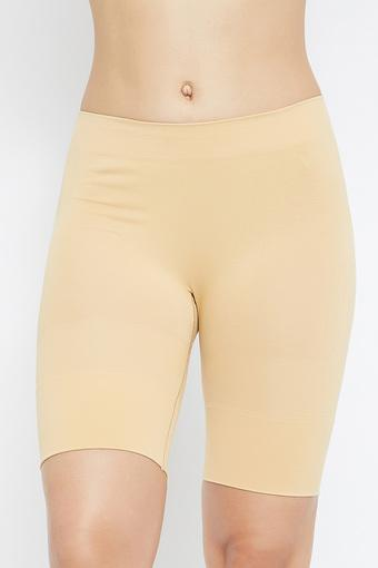 Womens Solid Shaping Shorts