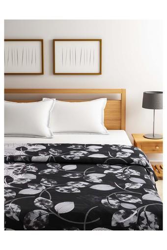 Leaf Printed Single Comforter