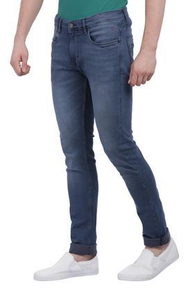 Mens 4 Pocket Mild Wash Jeans