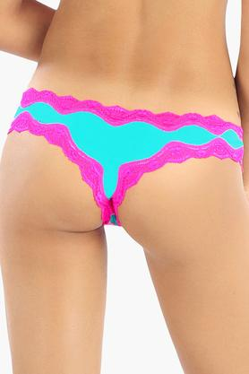 Womens Low Rise Lace Thong