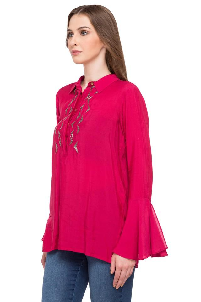 Womens Embellished Casual Tunic