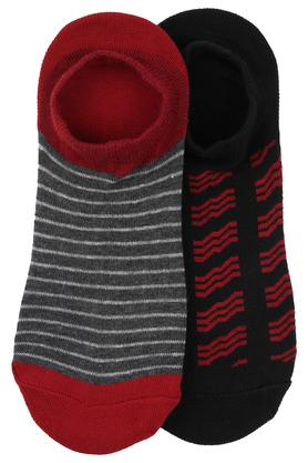 STOP Unisex Stripe Socks Pack Of 2
