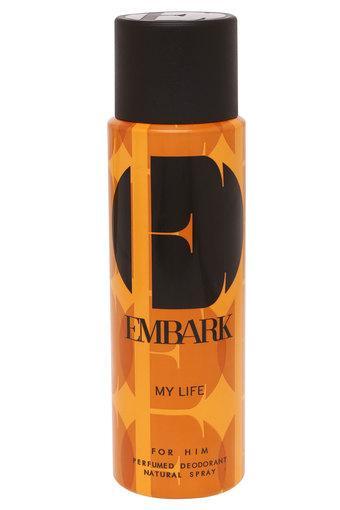 Mens My Life For Him Perfumed Deodorant - 150ml