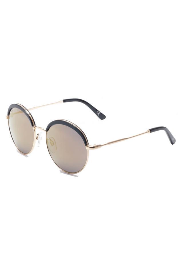 Womens Full Rim Round Sunglasses - 2100 C2 S