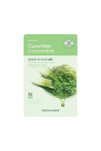 Real Nature Cucumber Face Mask