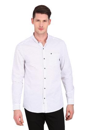 904070c5796 X WRANGLER Mens Slim Collar Stripe Shirt. WRANGLER. Mens Slim Collar Stripe  Shirt ... MRP Rs 2395