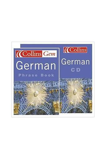 German Phrase Book CD Pack (Collins Gem)
