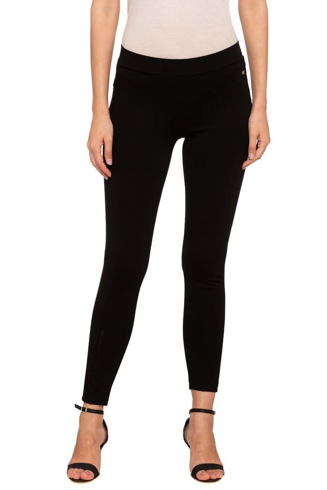 Womens Solid Leggings