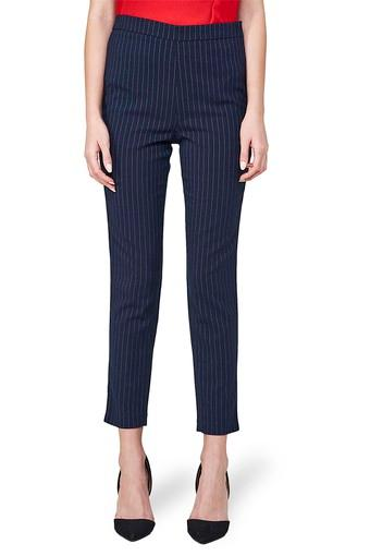AND -  NavyTrousers & Pants - Main