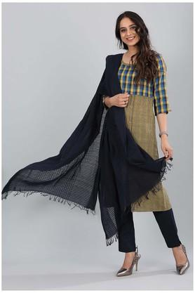 Womens Striped Dupatta
