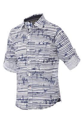 Boys Stripes Casual Shirt