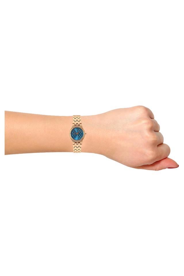 Womens Reina Series Blue Dial Analog Watch - PB817FRGBL66
