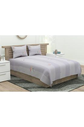 Printed Double Bedsheet with Pillow Cover Set