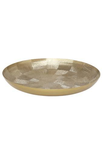 Round Polished Decorative Platter