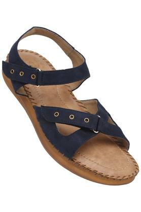 RAW HIDE Womens Casual Wear Velcro Closure Wedges - 203679094_9324