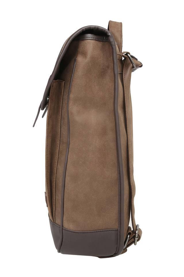 Mens 1 Compartment Zip Closure Backpack