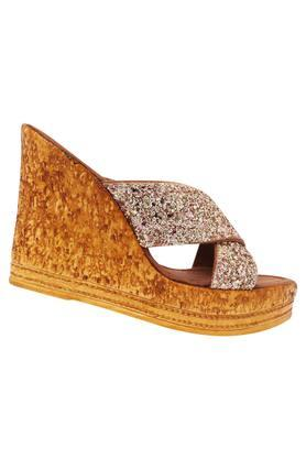 Womens Party Wear Slipon Wedges