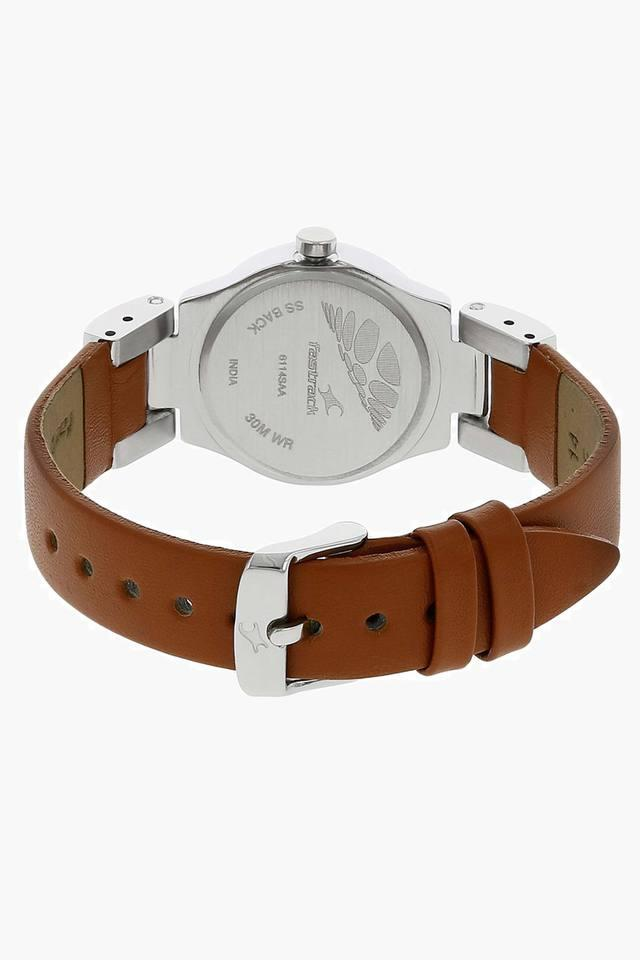 Round Dial Analog Watch - NJ6114SL01C