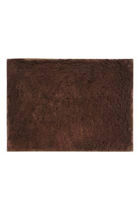 Lux Cotton Rectangular Textured Slub Bath Mat
