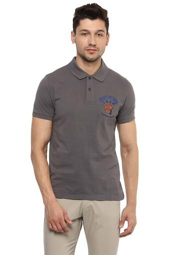 CELIO -  Anthracite T-shirts - Main