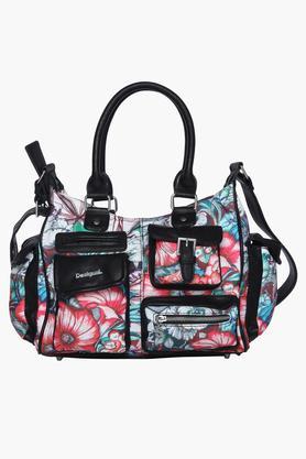 DESIGUALWomens Zipper Closure Satchel Handbag - 203850501_9308