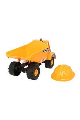 Kids JCB Giant Dump Truck and Helmet Toy