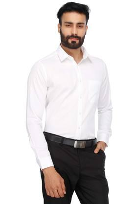 Mens Solid Formal Shirt