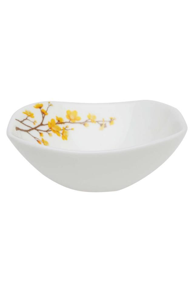 Summertide Square Printed Vegetable Bowl