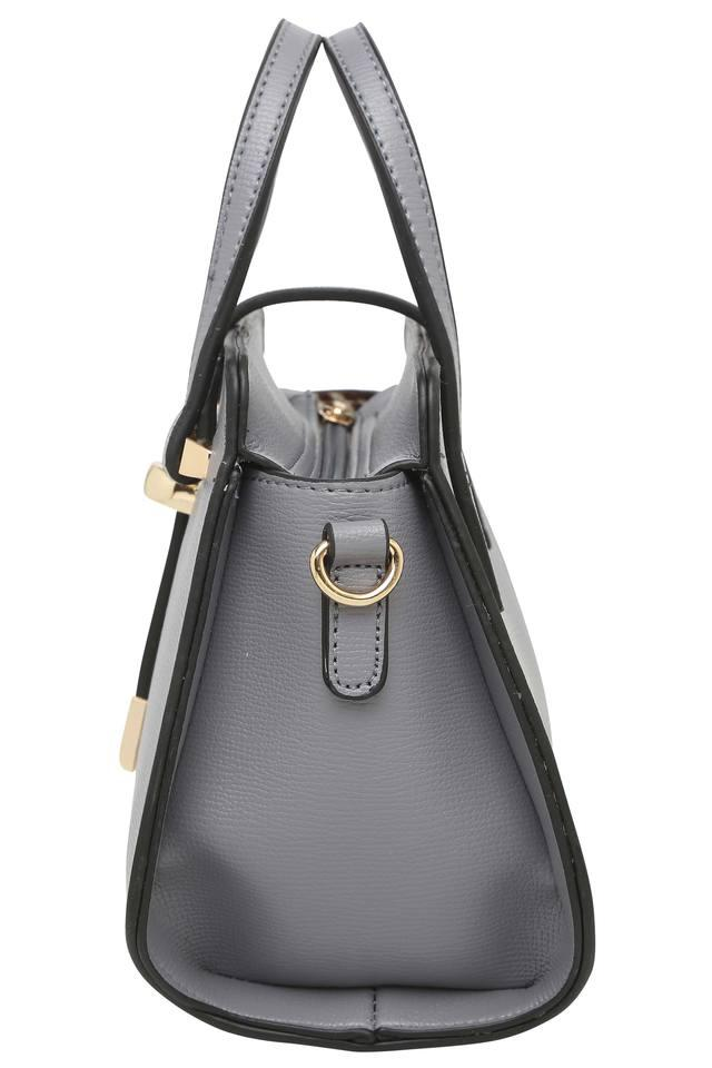 Womens Loop Closure Satchel Handbag