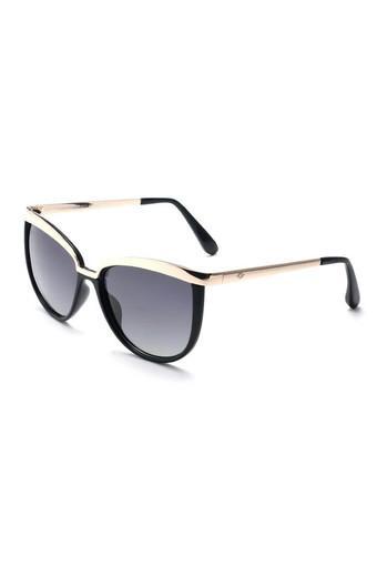 Womens Full Rim Browline Sunglasses - 4756 C1 S