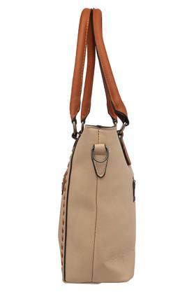 Womens Zipper Closure Shoulder Handbag