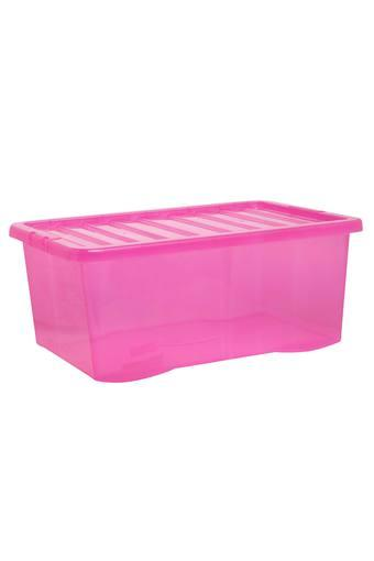Rectangular Solid Storage Box with Lid