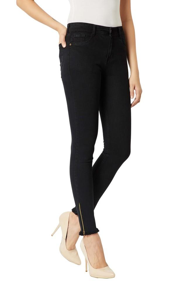 Womens Slim Fit Denim Coated Jeans