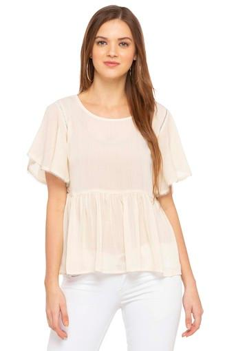 RS BY ROCKY STAR -  Off WhiteTops & Tees - Main