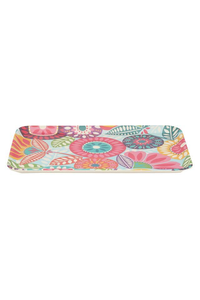 Rectangular Fantasia Printed Tray