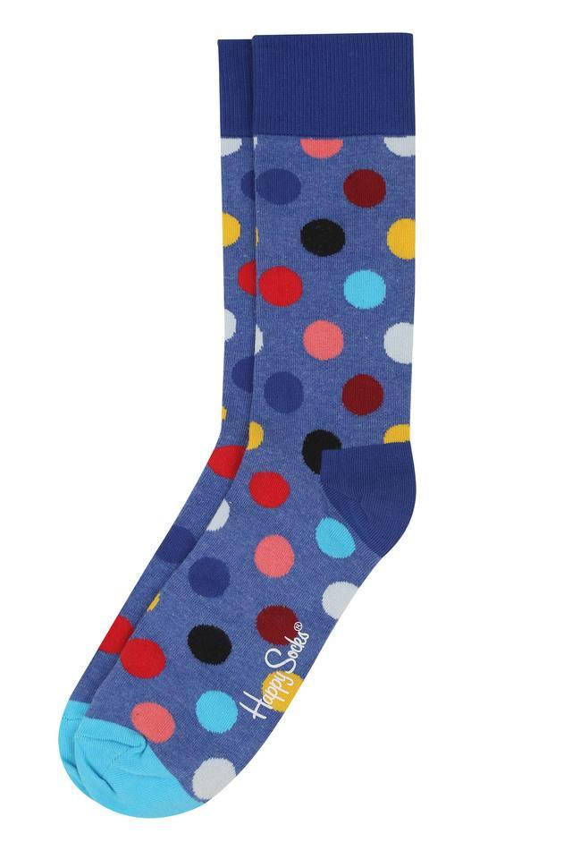 Mens Dot Pattern Socks